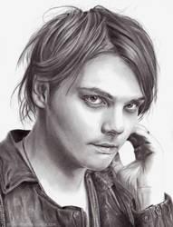 Gerard Way by ArtByBryanna