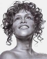 Whitney Houston Tribute by ArtByBryanna
