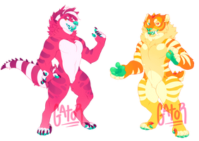 dinos! - SOLD by gatorstooth