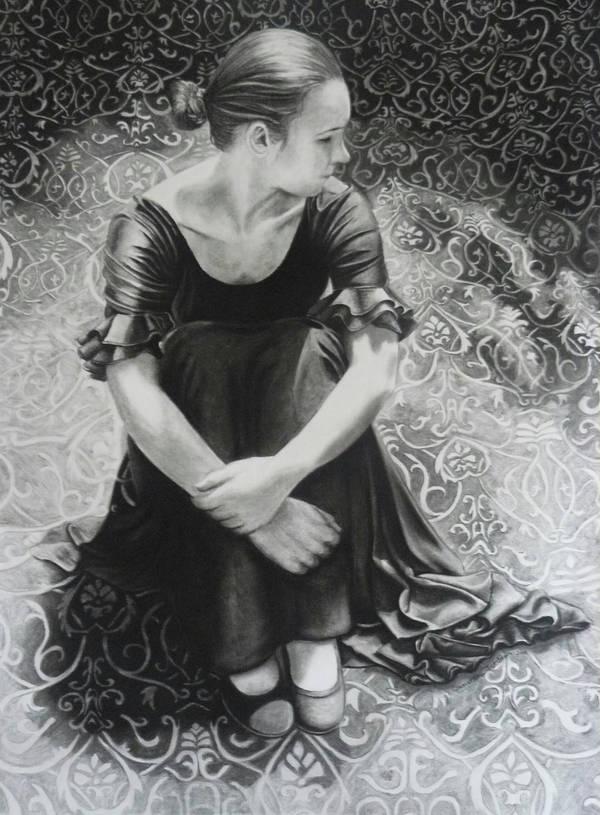 Self portrait by SamanthaJordaan