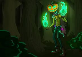 Pumpkin Power by EDMeadArt