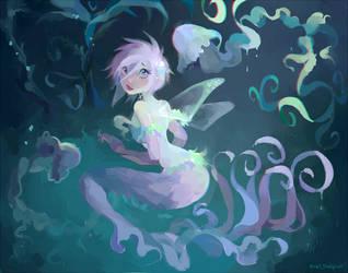 Tecna Mermaid by AxelStardust