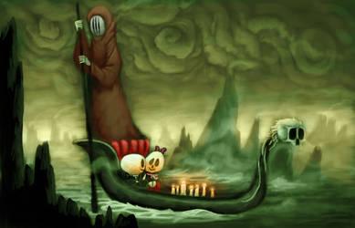 Goth gondola *new account* by Skrunch