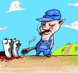 Pig's revenge by Skrunch