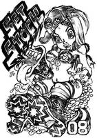 Megaphone monster by GRAPEBRAIN
