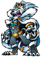 Pirate Nation_White Lion by GRAPEBRAIN