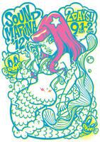 Mermaid_Tshirt by GRAPEBRAIN