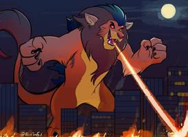 Kaiju Leonel by BlurTheFur by ElementalFurries