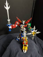 Voltron-Legendary Defender by Roguewing