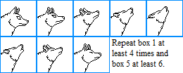 Wolf Howling Base by DreyaCira