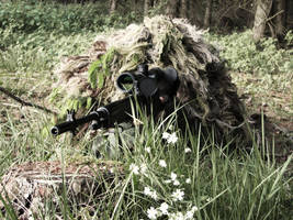 Ghillie suit - Summer 7 by TheTomi