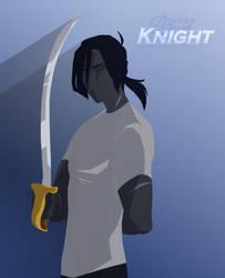 Silhouette: Knight by Cheeky-Scrub