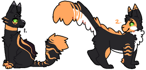 Deadly Cheap Halloween Themed Catto Adopts (1/2) by fluffpupadopts