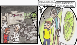 marty err morty by CB129