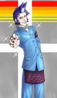 Persona - Eikichi by cinnie