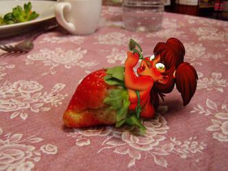Strawberry Shortskirt by basakward