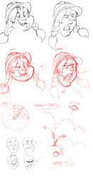 Character Expressions 02 by basakward
