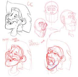 Character Expressions 03 by basakward