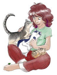 Happy Kitty-Mother's Day! by basakward