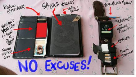 No Excuses! by basakward
