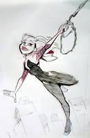 Spider Gwen by basakward