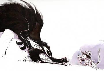 Shadow Beast by basakward