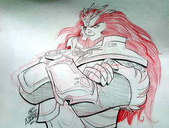 Awesome Con 2018 Ganon commish by basakward