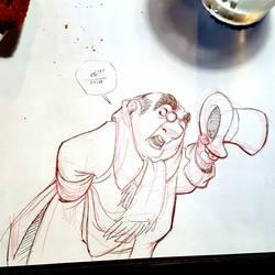 Diner Doodle by basakward