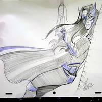 Huntress by basakward