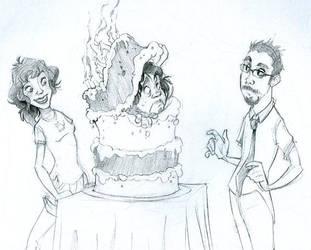 Happy UNbirthday Gabo by basakward
