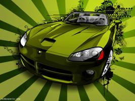 Vector Wallpaper: Dodge Viper by polarbear0743