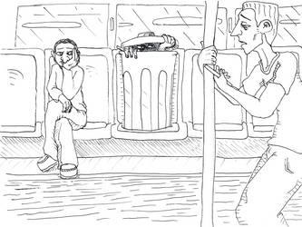 Inktober Day 20: Traveling in Disguise by dragonweird