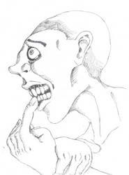 Inktober Day 21: A Secret Which Gnaws by dragonweird