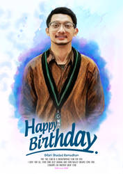 Happy Birthday For you by Rizkyuto