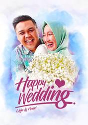 Happy Wedding by Rizkyuto