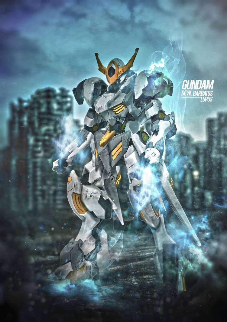 Gundam Devil Barbatos by Rizkyuto