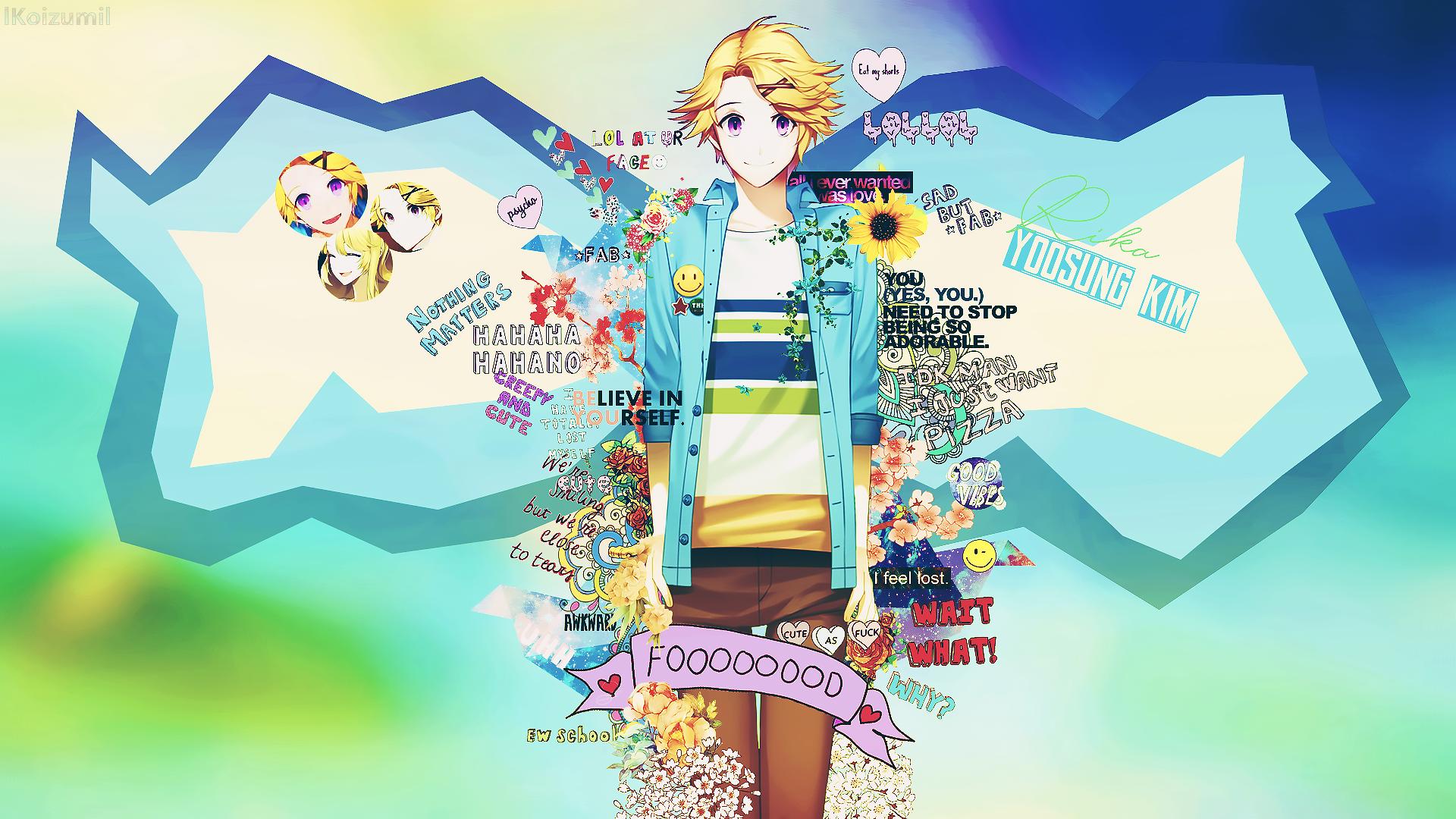 Wallpaper [ Yoosung Kim ] Mystic Messenger by lKoizumil
