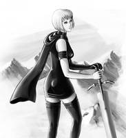 claymore - Clare by sspit