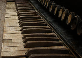 Antique Piano 8 Vampstock by VAMPSTOCK