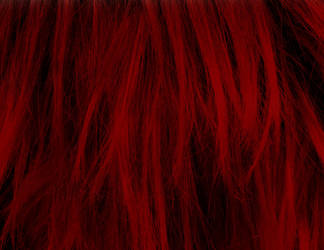 Red Hair Texture Vampstock by VAMPSTOCK
