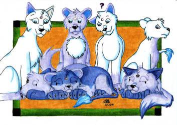 Siblings by BlueLumi