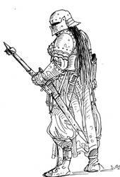 Girls in armor by TuomasMyllyla