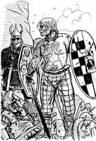Gauls at thermopylae by TuomasMyllyla