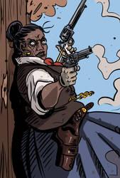 Gunslinger by TuomasMyllyla