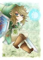 [ Legend of Zelda - Link Chibi ] by Seiirei