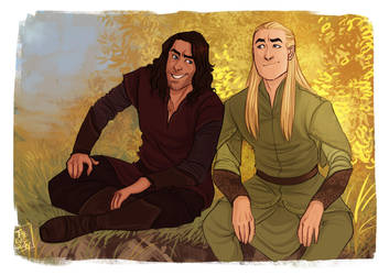 LOTR - Friends by the-evil-legacy