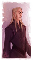 LOTR - King Oropher by the-evil-legacy