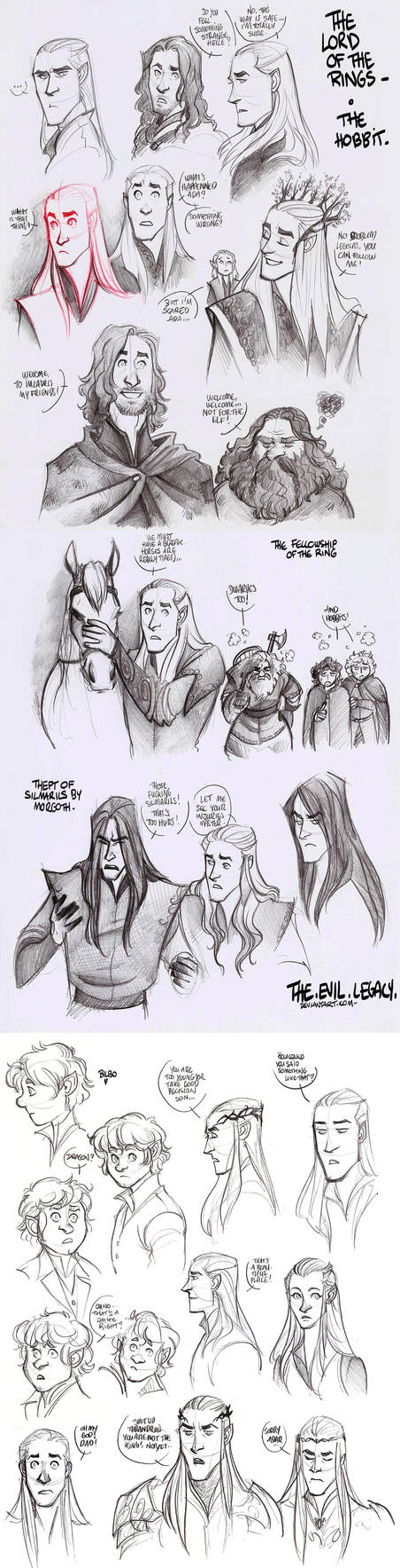 LOTR - lotst of elves by the-evil-legacy
