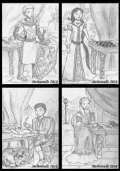 Monarachs of the Golden Age by Meltintalle