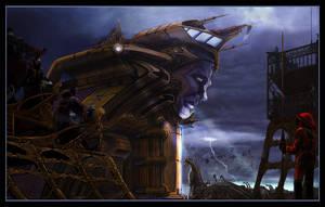 Futuristic Ark by jubjubjedi